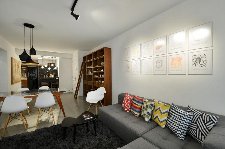 Johnny Thomsen Arquitetura e Design Ruang Keluarga Modern