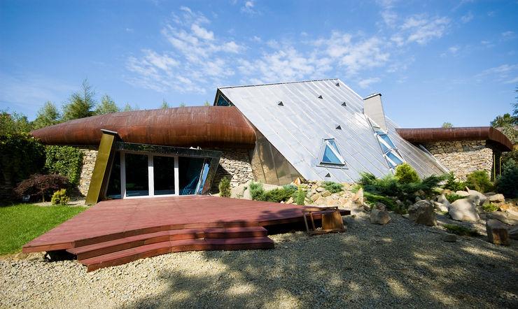 autorskie studio architektury Casas de estilo moderno