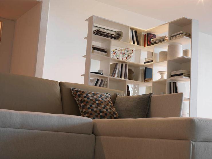 SUDOKU Bookshelves CASAMANIA HORM FACTORY OUTLET غرفة المعيشة