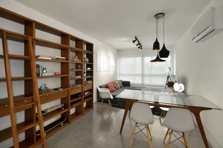 Johnny Thomsen Arquitetura e Design Sala da pranzo moderna