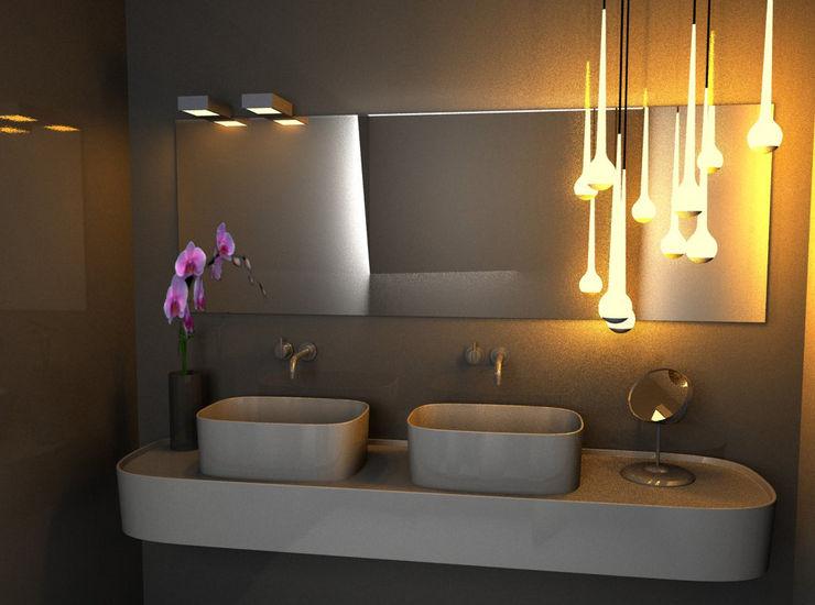 Elena Valenti Studio Design Moderne Badezimmer