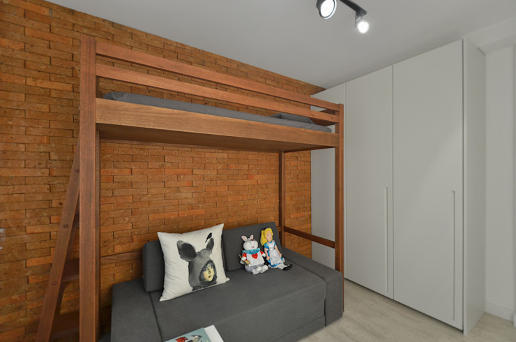 Johnny Thomsen Arquitetura e Design Chambre moderne