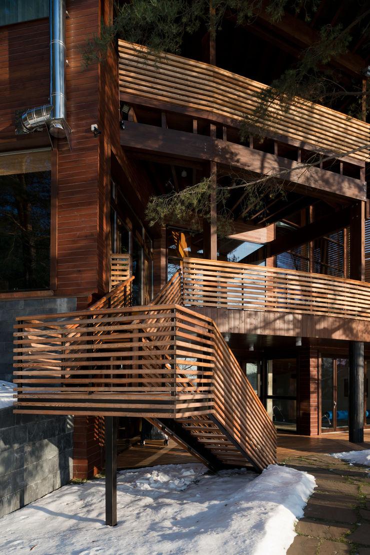 Название Balcones y terrazas de estilo ecléctico