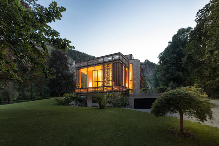Architekt Alexander Diem Eclectic style garden