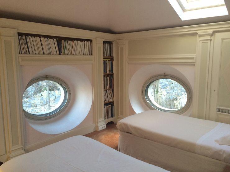 Villa Taglioni – Blevio Como Lake Archiluc's - Studio di Architettura Stefano Lucini Architetto Dormitorios de estilo clásico