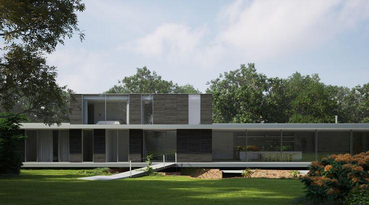 Private House, Suffolk Strom Architects Casas de estilo mediterráneo