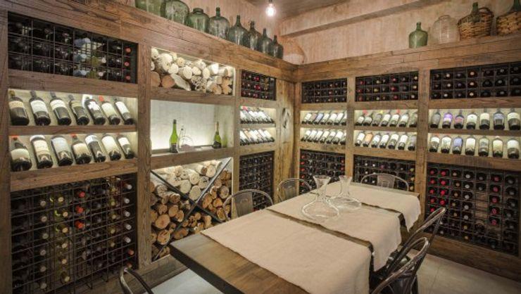 Cohen - Reig Arquitectura & Interiorismo Rustic style gastronomy
