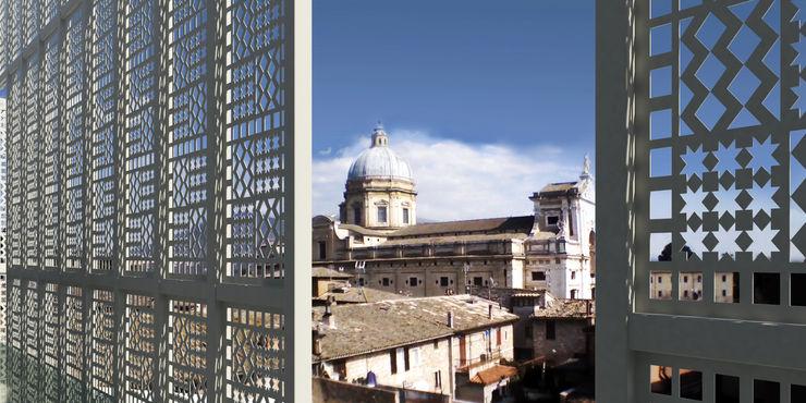 Progetto architettonico di edificio direzionale-residenziale, Comune di Assisi Fabricamus - Architettura e Ingegneria