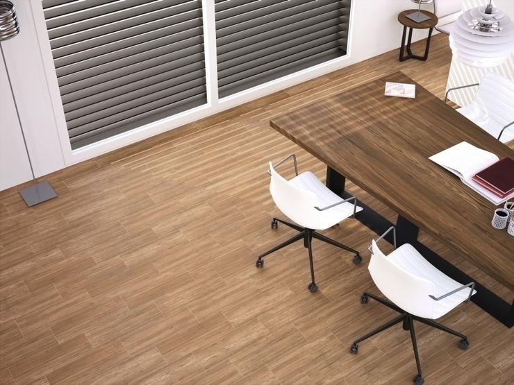 Bocote Gres imitación a madera INTERAZULEJO Estudios y despachos industriales
