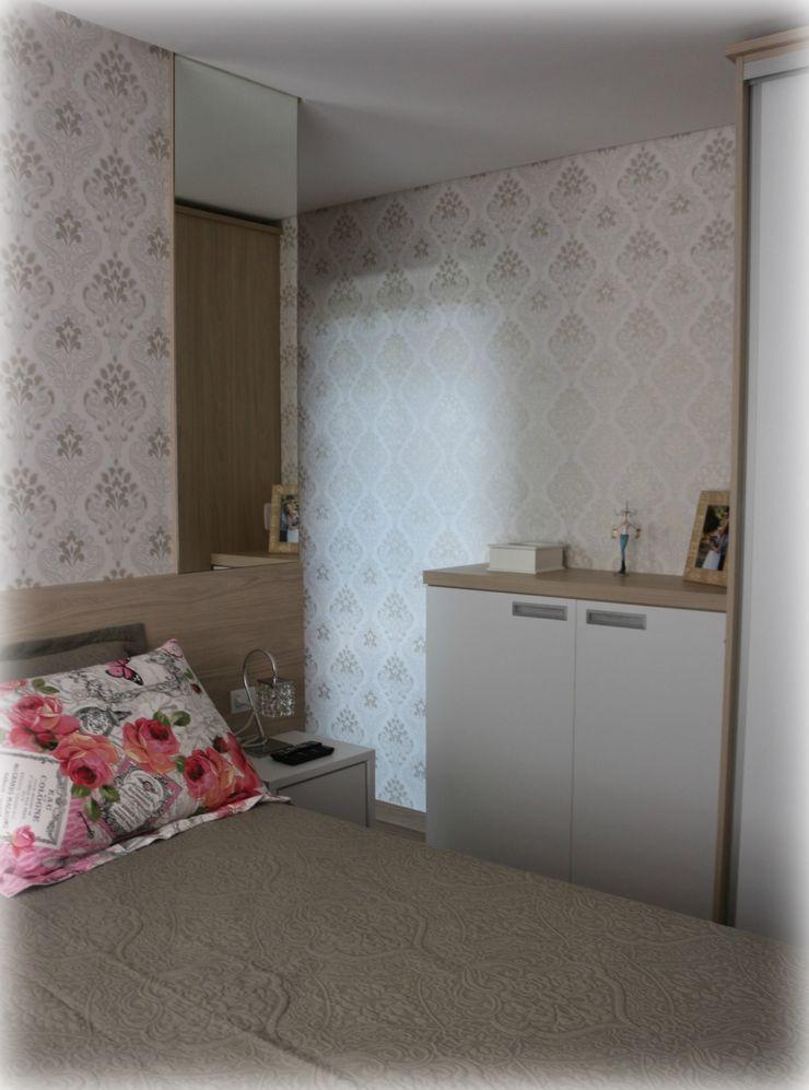 Nesta Espaços Extraordinários Modern style bedroom