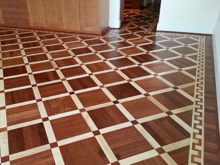 "Parquet Pattern ""Metz"" Luxury Wood Flooring Ltd Modern style bedroom"