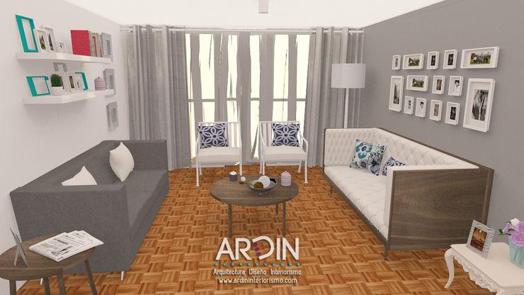 ARDIN INTERIORISMO Ausgefallene Wohnzimmer