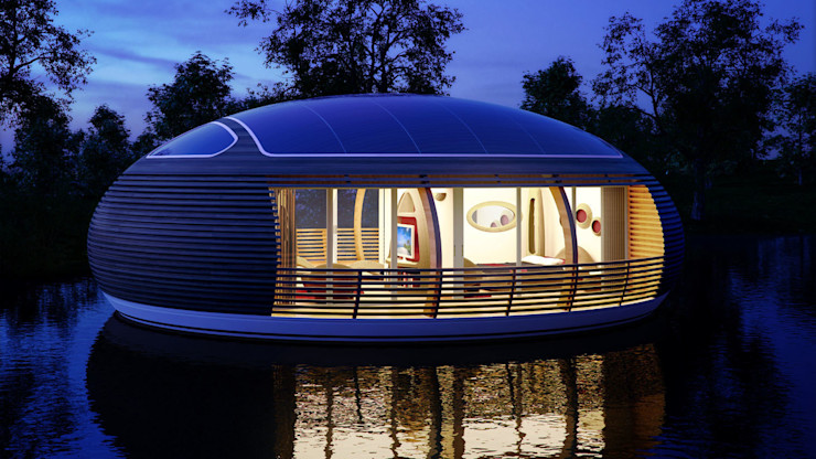 WaterNest Giancarlo Zema Design Group Wooden houses