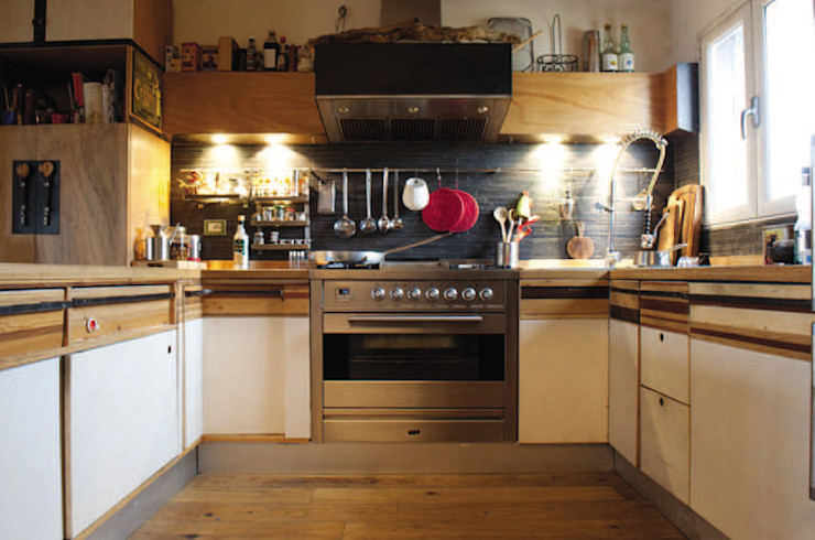Laboratorio Controprogetto snc ห้องครัวที่เก็บของ