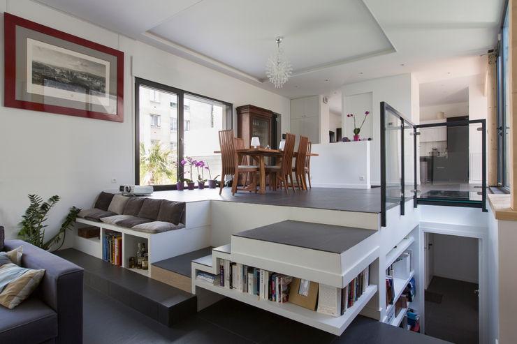 agence MGA architecte DPLG Ingresso, Corridoio & ScaleScale