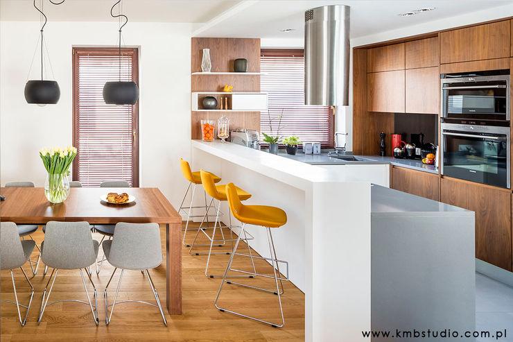 dom Kryspinów kmb studio Nowoczesna kuchnia