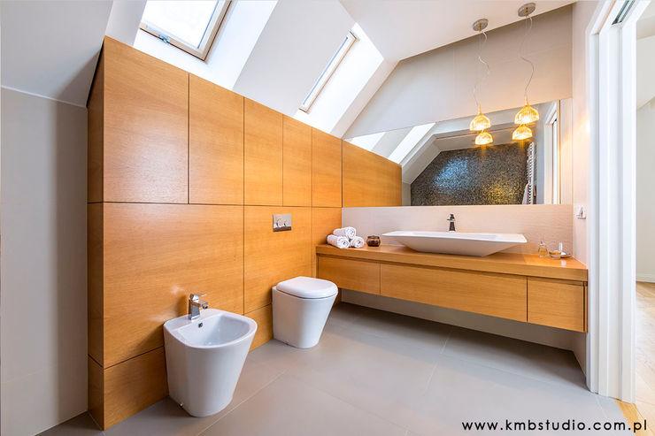 dom Kryspinów kmb studio Nowoczesna łazienka