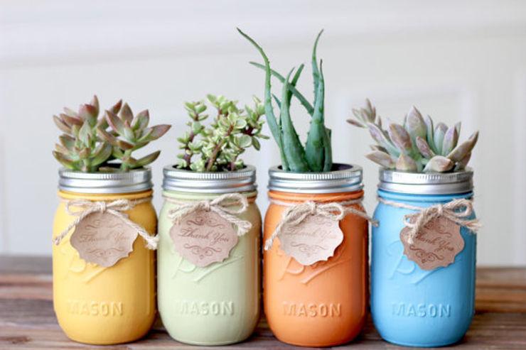 Mason Jar Kitchen Paysagisme d'intérieur
