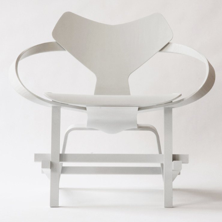 3D printed Mash up Chair Diederik Schneemann Kunst Kunstobjecten