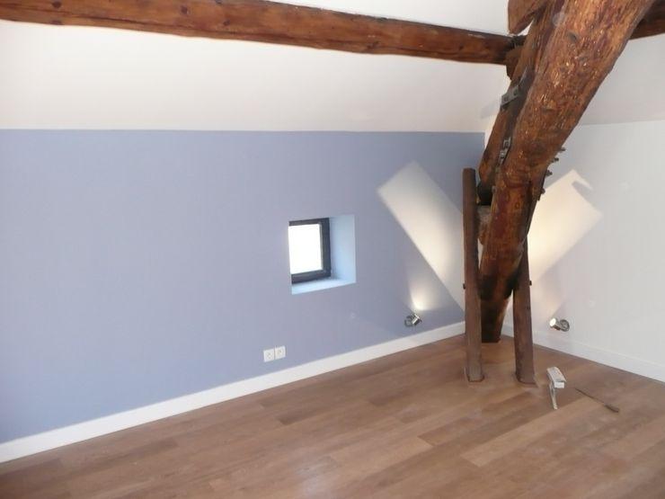 AGENCE D'ARCHITECTURE BRAYER-HUGON Modern Bedroom