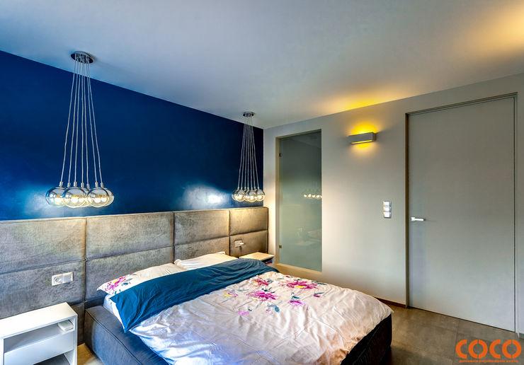 COCO Pracownia projektowania wnętrz Minimalistische Schlafzimmer