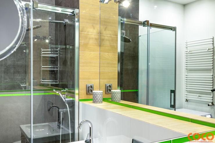 COCO Pracownia projektowania wnętrz Salle de bain minimaliste