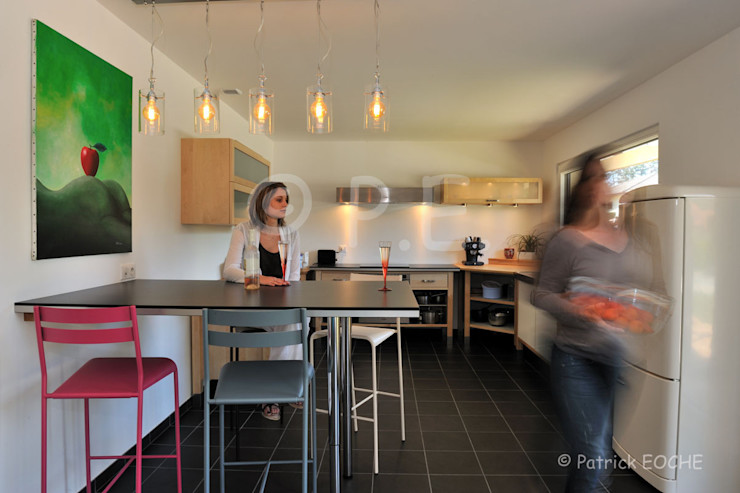 patrick eoche Photographie d'architecture Modern style kitchen