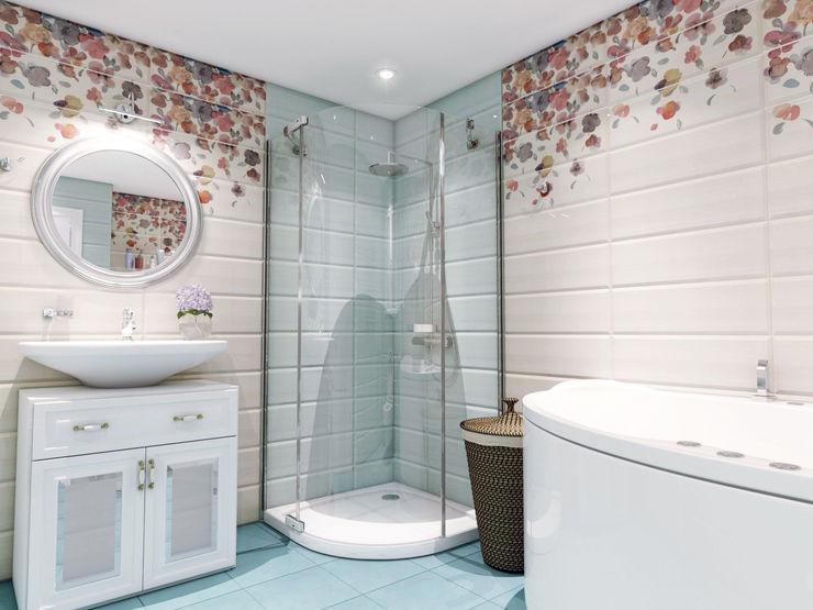 Volkovs studio クラシックスタイルの お風呂・バスルーム