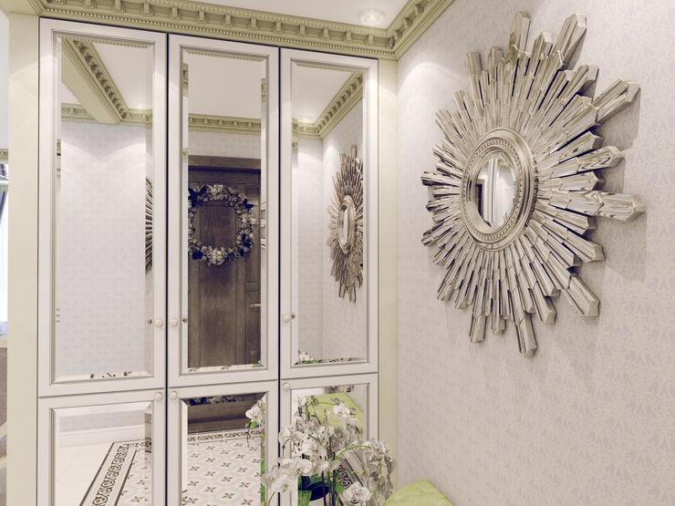 Volkovs studio クラシカルスタイルの 玄関&廊下&階段