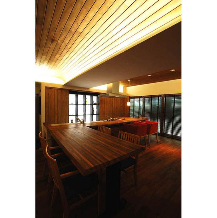 辻史彰建築研究所 Modern living room