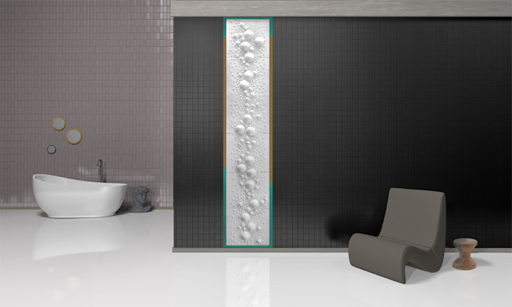 Grześkiewicz Design Studio Modern style bathrooms
