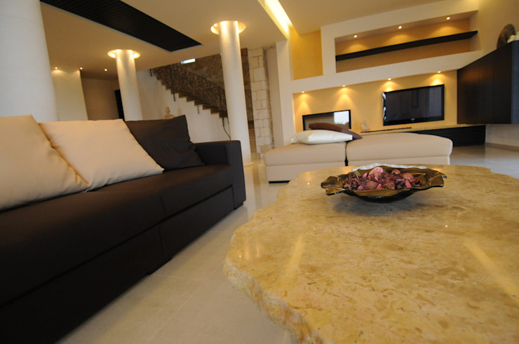CARLO CHIAPPANI interior designer Mediterranean style living room