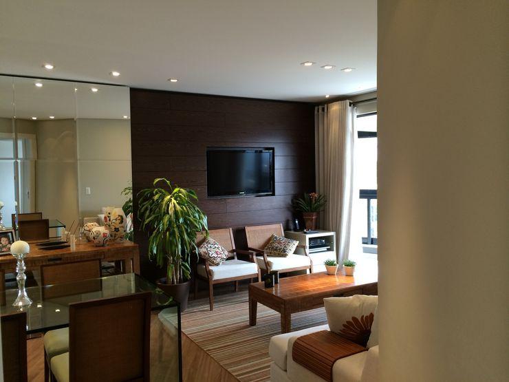 Roesler e Kredens Arquitetura غرفة المعيشة