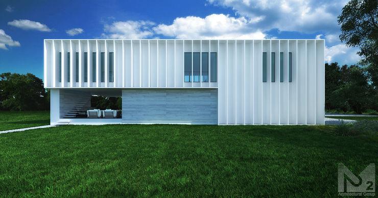 ALEXANDER ZHIDKOV ARCHITECT Nhà phong cách tối giản