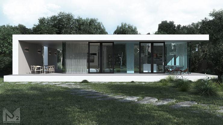 ALEXANDER ZHIDKOV ARCHITECT Casas minimalistas
