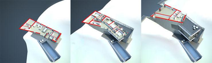 ALEXANDER ZHIDKOV ARCHITECT Maisons minimalistes