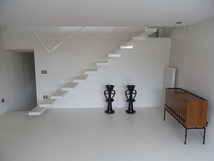 fferrarinirsm di ferrarini fabio Couloir, entrée, escaliers modernes