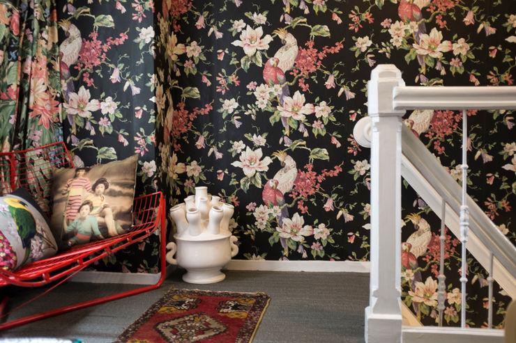 studio zipp Eclectic style corridor, hallway & stairs