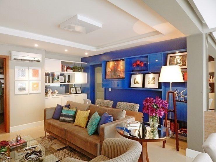 Ambientta Arquitetura غرفة المعيشة