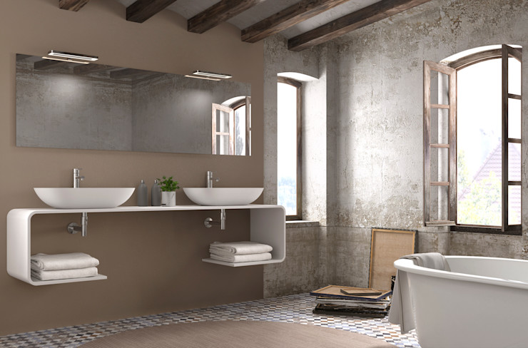 Mueble Essence C doble lavabo Astris BañosAlmacenamiento