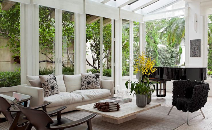 CSDA Arquitetura e Interiores Modern style conservatory
