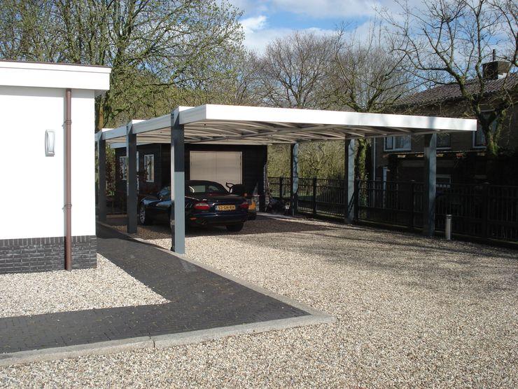 Carports Carport Harderwijk Moderne garage