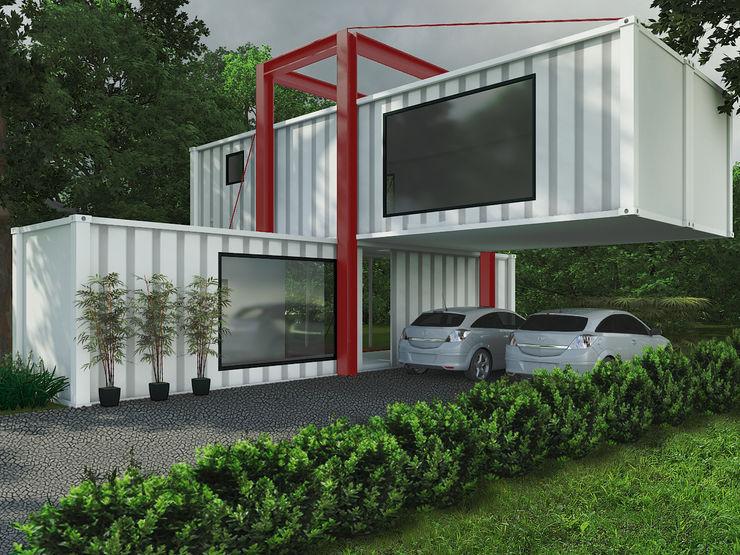 Casa Container eduardopetry Casas industriais