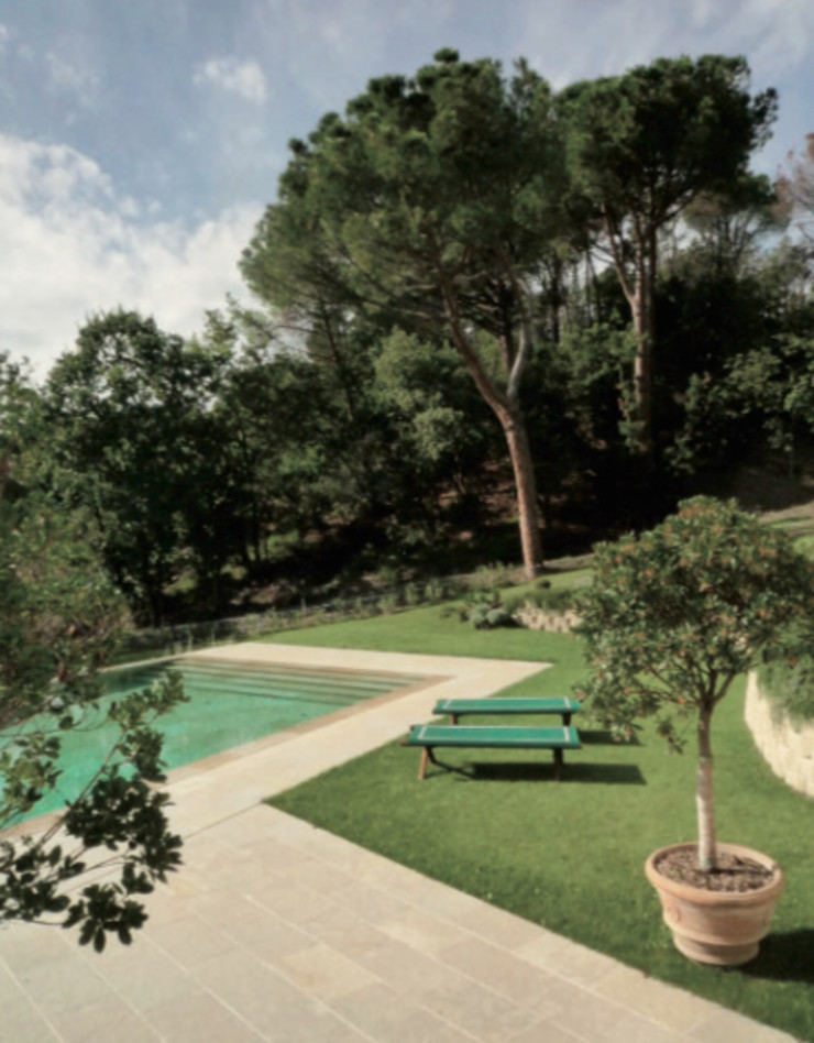 Casa Nuova Studio Mazzei Architetti Piscina minimalista