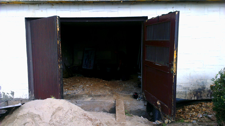 Kuchnia w garażu - Jaworzno - krok 1 Bednarski - Usługi Ogólnobudowlane