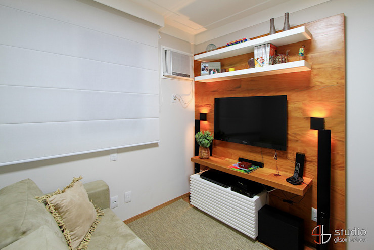 Camila Tannous Arquitetura & Interiores Media room
