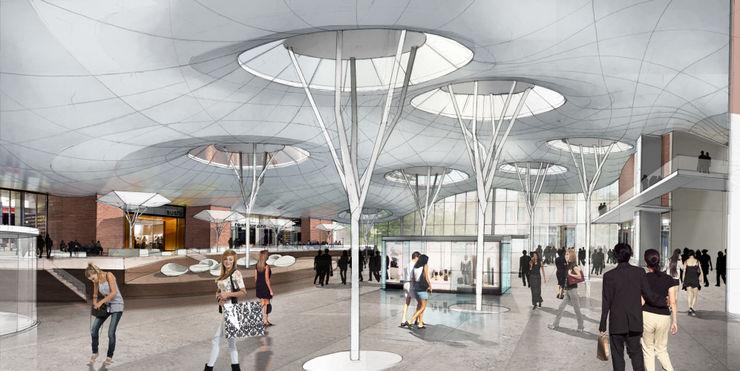 Innenperspektive Plaza Achtergarde + Welzel Architektur + Interior Design