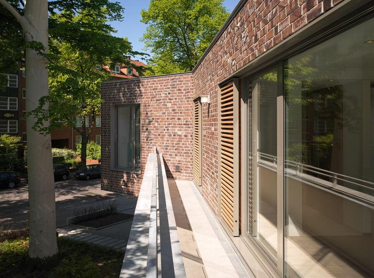 Detail Dachterrasse KITZMANN ARCHITEKTEN Moderne Häuser