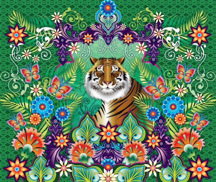 Catalina Estrada Mural ref 1280209 Paper Moon Walls & flooringWallpaper