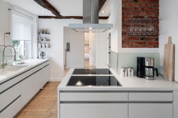 doppelt ausgestattete Küche zum Kochen mit großen Gruppen Bleibe Moderne Hotels